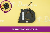 Вентилятор (кулер) для ноутбука Acer Aspire V5-171   040174