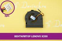 Вентилятор (кулер) для ноутбука Lenovo X200 | 049178