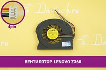 Вентилятор (кулер) для ноутбука Lenovo Ideapad Z360 | 049179