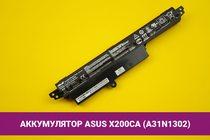 Аккумулятор (батарея) для ноутбука Asus X200CA (A31N1302) 2950mAh 33Wh 11.2V | 020051