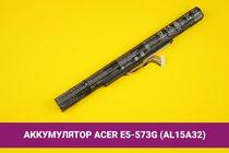 Аккумулятор (батарея) для ноутбука Acer Aspire E5-573G (AL15A32) 2500mAh 37Wh 14.8V | 020063
