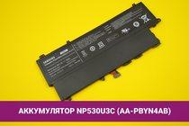 Аккумулятор (батарея) ноутбука Samsung NP530U3C (AA-PBYN4AB) 6100mAh 45Wh 7.4V   020089