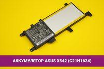 Аккумулятор (батарея) для ноутбука Asus X542U (C21N1634) 5000mAh 38Wh 7.6V | 020101