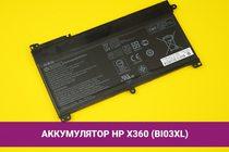 Аккумулятор (батарея) для ноутбука HP Pavilion X360 (BI03XL) 3600mAh 42Wh 11.5V | 020128
