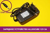 Зарядное устройство [блок питания] для ноутбука Alldocube / Cube 12V 3A 36W 3.5x1.35mm   030076cube