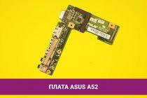 Плата AUDIO, USB HDMI и VGA для ноутбука Asus A52   108019auhv