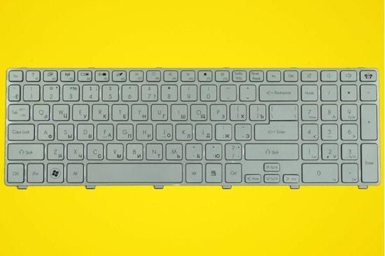 Клавиатура для ноутбука Packard Bell Easynote TV11CM серебристая   010017S