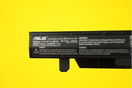 Аккумулятор (батарея) для ноутбука Asus GL552 (A41N1424) 3150mAh 48Wh 14.4V | 020046