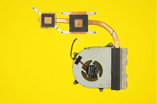 Вентилятор (кулер) для ноутбука Lenovo IdeaPad 110-15ACL с радиатором | 048028
