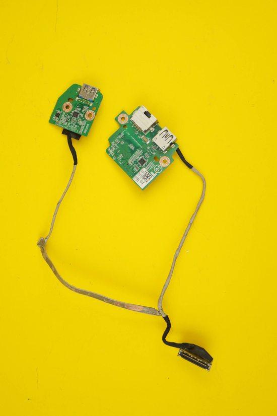 Плата USB для ноутбука Dell Inspiron 7720 (DA0R09PC6F1/DA0R09TB6D1) с шлейфом | 108008ul